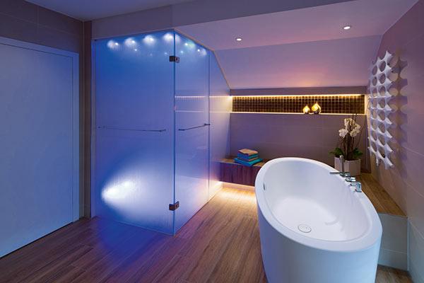 drei faktoren um licht im bad richtig zu planen ihli pfeffelbach die badgestalter. Black Bedroom Furniture Sets. Home Design Ideas