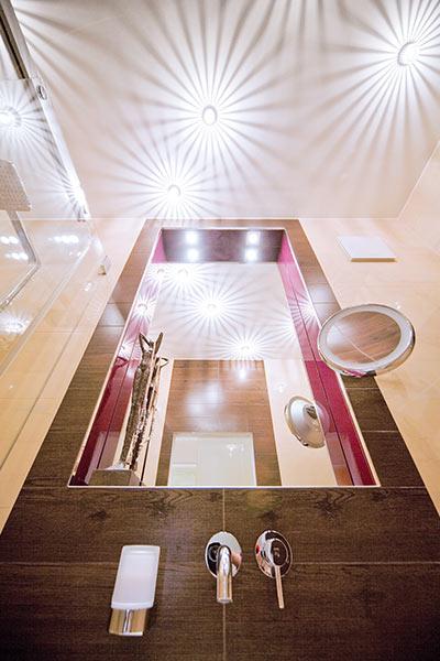 drei faktoren um licht im bad richtig zu planen ihli. Black Bedroom Furniture Sets. Home Design Ideas